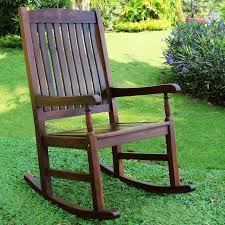 belham living ashbury indoor outdoor wood rocking chair dark intended for wooden chairs decorations 9