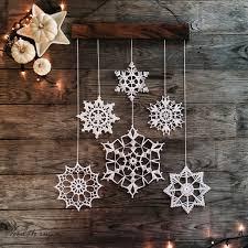 snowflakes mobile