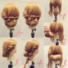 ミディアムヘアアレンジで毎日可愛く簡単アップスタイル7選hair