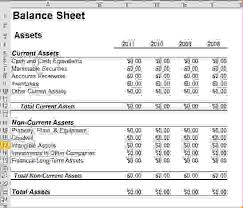balance sheet template 6 balance sheet template excel procedure template sample