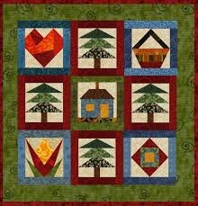 Country Home Mini Quilt Pattern [Q06] - $9.95 : Online Shoppe ... & Country Home Mini Quilt Pattern Adamdwight.com