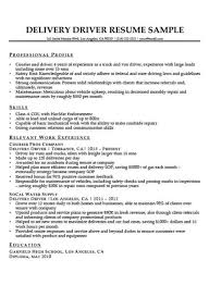 truck driving resumes truck driver resume sample resume companion