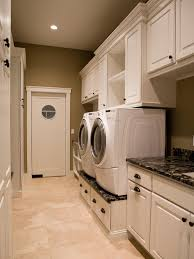 Wood Utility Cabinet 10 Clever Storage Ideas For Your Tiny Laundry Room Hgtvs