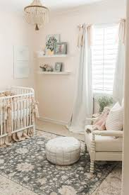 Light Pink Baby Girl Nursery Pretty Pale Pink Nursery Baby Bedroom Girl Room Nursery Room