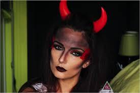 y devil makeup look 2016