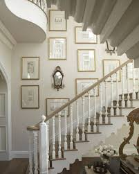 Stairs Wall Decoration Ideas Staircase Wall Decor Bearing Net Ideas