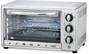 an oven toaster griller is the newest addition made to kraft appliances the appliance has a steel with a toughened glass door which is easy to clean