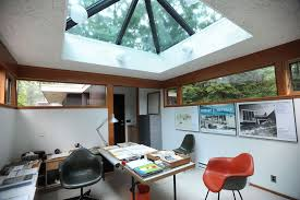 architect home office. Inside The Office Of Home Designed By Robert Metcalf On Arlington In Ann Arbor. Architect