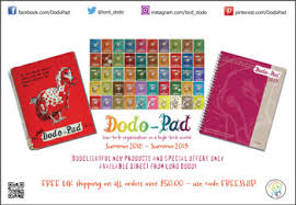 Dodo Pad Catalogue Online Or Downloadable Pdf For Diaries
