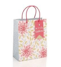 fl print um gift bag marks spencer