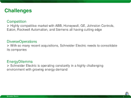 Schneider Electric Strategy Presentation