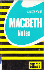 macbeth home libguides at pacific lutheran college coles notes macbeth