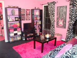 Pink And Black Bedroom Decor Pink And Black Bedroom Decor Beautiful Pink Decoration