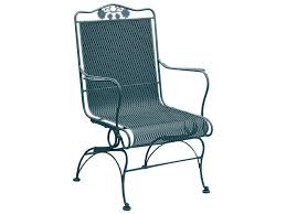 back coil spring lounge chair