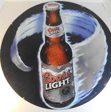Coors Light Collectible Bottles 2000 Coors Light Sign Bottle In A Vortex Item Inz0113 Ebay