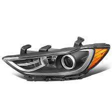 Maybe you would like to learn more about one of these? Dna Motoring Oem Hl 0123 L Black Amber Factory Style Left Side Projector Headlight Lamp Replacement For 17 18 Elantra Headlight Assemblies Lights Lighting Accessories Navarradrones Com