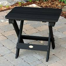 folding adirondack side table by highwood outdoor furniture coffee resin tables plastic adirondack table round