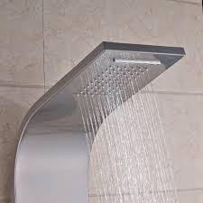 Ulgksd Nickel Dusche Panel Wandhalterung Wasserfall