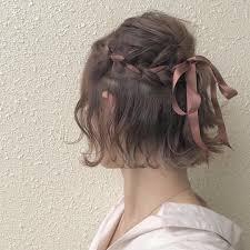 文化祭の髪型かわいいアレンジ15選2018編み込みやリボンなど