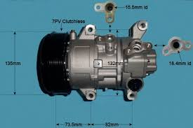 Car Air Conditioning Compressor (Pump) Toyota Corolla Verso 2.2 D4D ...