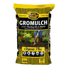 gromulch 2 in 1 planting mix and mulch
