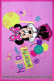 disney minnie mouse erfly rug image to close