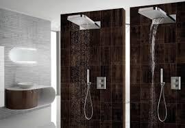 shower head duo rain and waterfall jets