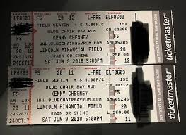 Lincoln Financial Field Seating Chart Kenny Chesney Kenny Chesney Floor Seats F5 Lincoln Financial Field In