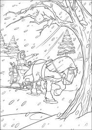 Small Picture Coloring Pages Winter Wonderland Coloring Pages