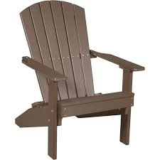 LuxCraft Lakeside Recycled Plastic Adirondack Chair The Porch