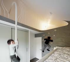 Kids furniture ideas Bedroom Ideas The Childrens Bedroom Has Climbing Wall And Firemans Dwell Best 60 Modern Kids Room Furniture Design Photos And Ideas Dwell