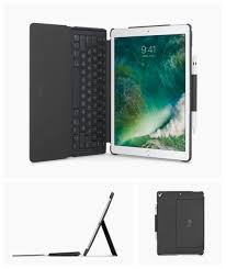 logitech slim combo detachable keyboard case for ipad pro 2017 10 5 and 12 9