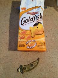 goldfish crackers bag. Perfect Goldfish SolvedMy Uncle Found This In A Bag Of Goldfish Crackers What Is  Thing With Crackers Bag F