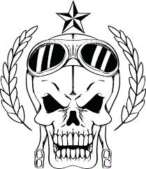 Free Skull Coloring Pages Free Printable Skull Coloring Pages For