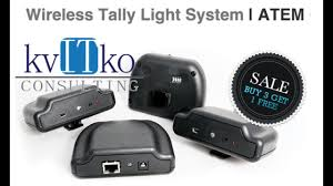 Tally Light System Best Wireless Tally System For Blackmagic Atem Television Mixer