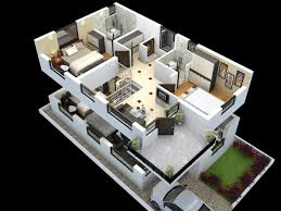 Cut Model Of Duplex House Plan Interior Design Click This Link - House plans interior