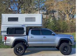 SWIFT POP-UP (SHORTER 5.0' BED) - Four Wheel Campers | Low Profile ...