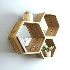 furniture liquidators geometric wall shelf shelves figure white innovation ideas hexagon plain design best on diy geometri
