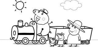 Small Picture Imagenes para colorear peppa pig para compartir en familia
