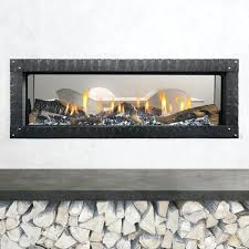 heat glo fireplace troubleshooting n mezzo see through gas clean front electric