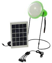 Solar Charging Light Solar Lamp Emergency Light With Mobile Charging