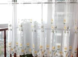 Daisy Kitchen Curtains
