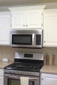 Kitchen Cabinet For Microwave Kitchen Remodel Big Results On A Not So Big Budget Staggered