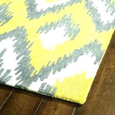 blue and yellow rugs rug area navy round grey