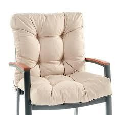 stone high back garden chair cushion