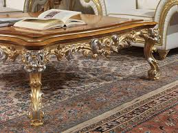 Imperial Coffee Table Coffee Table Classic Leather Square Imperial Vimercati