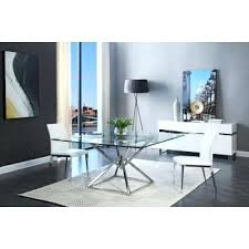 modern glass dining table modern glass dining room tables extraordinary ideas t din modern round glass