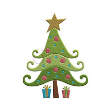 Stitchtopia Whimsical Christmas Tree Embroidery Design