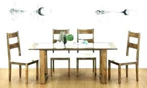 round kitchen table set for 6 small dining table with bench glass glass top dining table