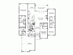 Atrium house plans eplans european plan